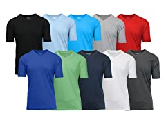Men's 5-Pack Assorted V-Neck Tee