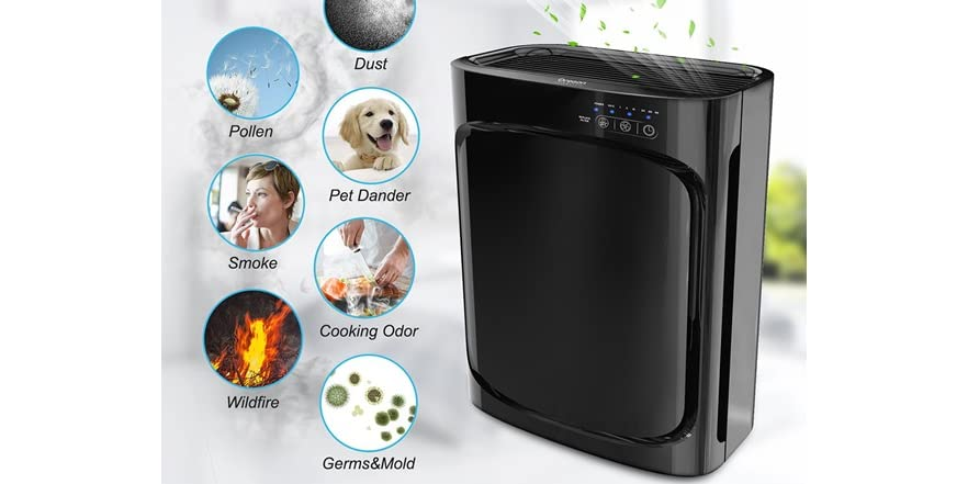 Oregon Scientific Cf8410 Hepa Air Purifier
