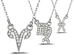 Mestige Zodiac Necklaces - Your Choice