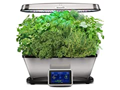 AeroGarden Bounty Elite, Stainless Steel