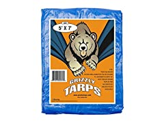 B-Air Grizzly Tarps Blue Poly Tarp Cover