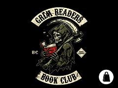 Grim Readers Book Club Tote