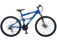 "Mongoose Vanish 26"" Dual Suspension Bike"