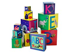 ABC Nested Blocks and Book Set
