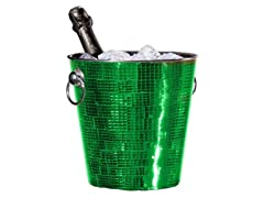 Oggi Champagne Bucket - Green