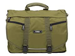 Large Messenger Bag - Olive