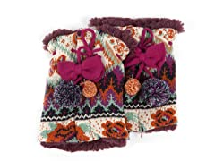 MUK LUKS® Boho Pommy Boot Sweaters