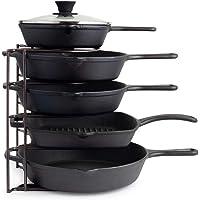 Cuisinel Heavy Duty Pan Organizer 5 Tier Rack