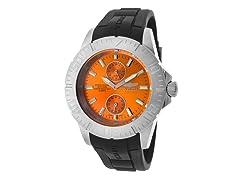Pro Diver Watch, Orange