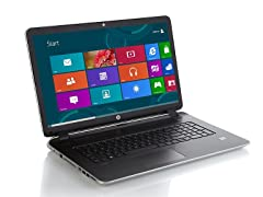 """HP Pavilion 17"""" AMD A10 Quad-Core Laptop"""