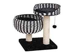 Paper Rope Perch and Lounger Bowl