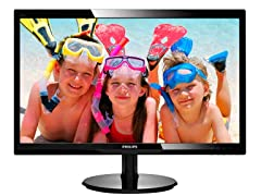 "Phillips 23.6"" LCD Full HD Monitor"