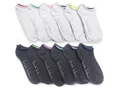 Nicole Miller Women's Low Cut Socks 12Pk