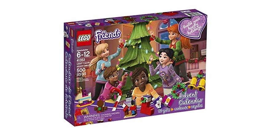 lego 500 piece friends advent calendar. Black Bedroom Furniture Sets. Home Design Ideas