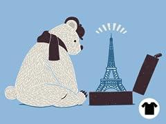 Tourist Bear Visits Paris