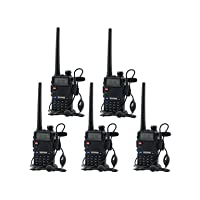 Deals on 5-Pack BaoFeng UV-5R UHF VHF Dual-Band Two-Way Radio