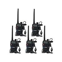 Deals on 5-Pack BaoFeng UV-5R UHF VHF Dual-Band Two-Way Radio