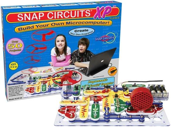 snap circuits xp build a microcomputer!Elenco Electronics Snap Circuits Xp Build Your Own Microcomputer #2