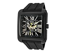 Men's Automatic Silver/Black Watch