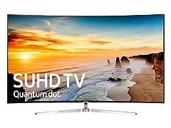 "Samsung 65"" Class KS9500 Curved 4K SUHD Smart TV"