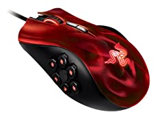 Naga Hex Gaming Mouse Wraith Red Edition