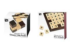 Ultimate IQ Combo 15 & Chequer Cube