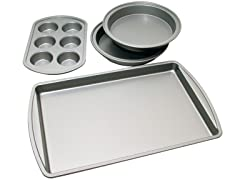 Nonstick 4-piece Bakeware Starter Set
