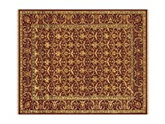 Izmir Collection Rug Red/Red