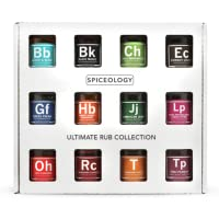 12-Pack Spiceology Father's Day Ultimate Rub Set