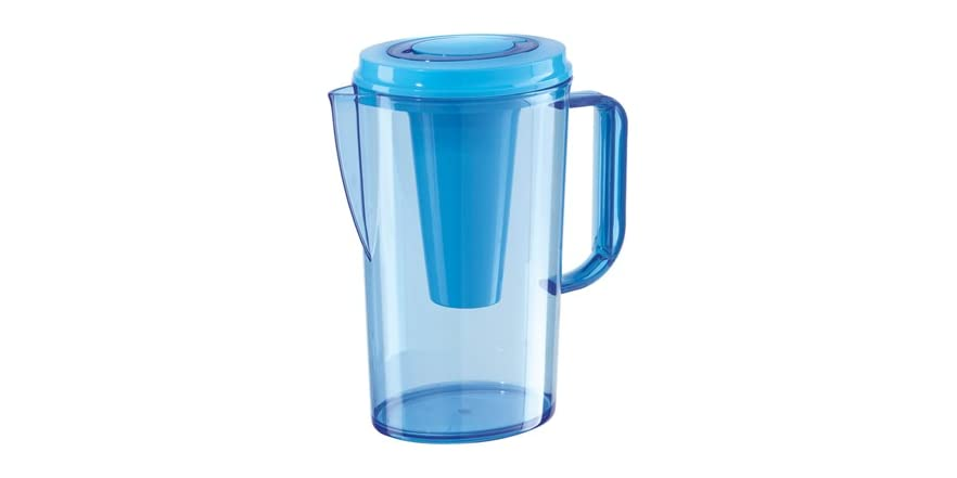 Oggi 68oz blue party pitcher ice tube for Home party tube