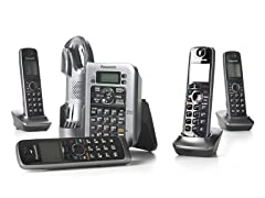 Panasonic 4-Handset w/Link-to-Cell