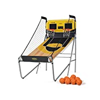 Deals on A11N Sports Sharpshooter Dual Shot Basketball Arcade Game