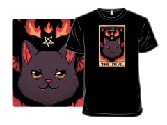 The Devil Cat Tarot Halloween