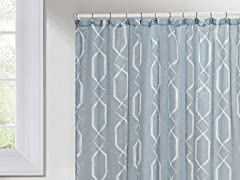 Arcadia Shower Curtain - Blue