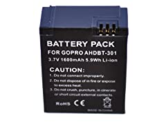 XIT Replacement Battery F/Hero 3~1600mAh