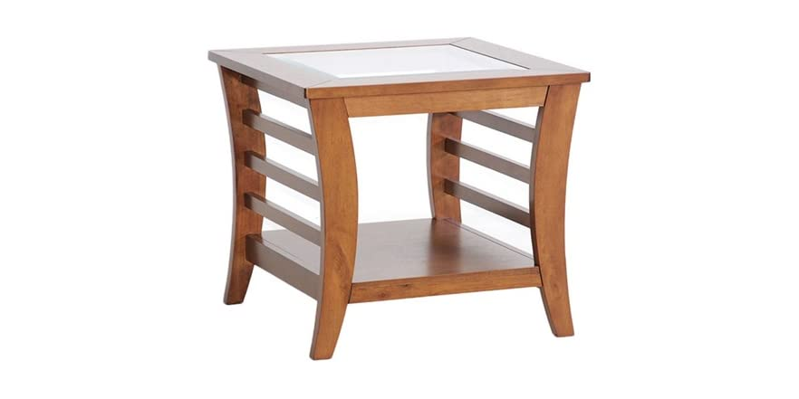 Allison end table w glass inlay for Table 6 handbook 44