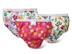 Training Pant 3PK - Crazy Circle Pink/Flowers/Jungle