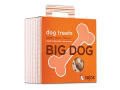 Sojos Big Dog Treats-Various Flavors 4pk