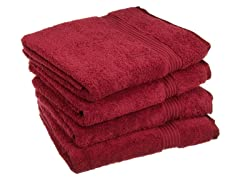 600GSM Long Staple Cotton 4PC Towel Set