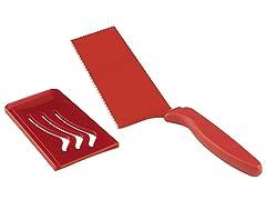 Kuhn Rikon Dual Edge Slice & Serve - Red