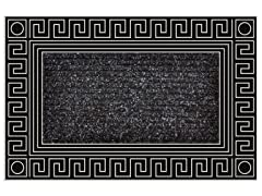Elegance Carpet Silver Door Mat