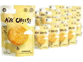 Air Cheese Crunchy Cheddar Cheese Bites, 16-Pack