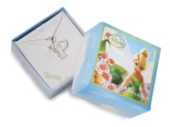 """Tinkerbell Initial Necklace - Letter """"P"""""""