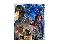 Disney Star Wars Silk Throw Blanket