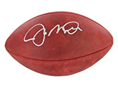 Joe Montana Signed NFL Football