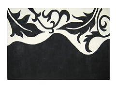 Sabrina Floral  Black 5x8