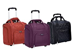AmazonBasics Underseat Carry-On Rolling Bag