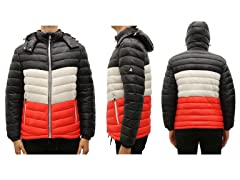 Men's Hvywt Quilted Hooded Puffer Jacket