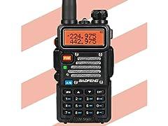 Baofeng UV-5RX3 Tri-Band Radio w/ Earpiece