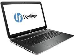 "HP 17.3"" AMD Quad-Core 1TB SATA Laptops"